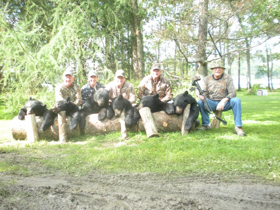 What a night! Six hunters filled their tags!